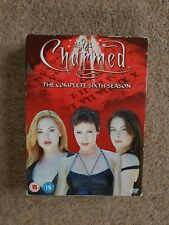 Charmed Season 6 DVD Box SetComplete Disc DVD Set WITH Booklet