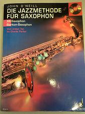 Die Jazzmethode für Saxophon