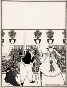 Aubrey Vincent Beardsley The Savoy Poster Reproduction Giclee Canvas Print