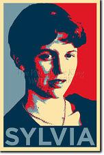 Sylvia Plath impresión fotográfica Poster De Regalo (Obama Hope)