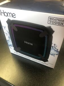 IHome Accent Lighting Weather Tough Bluetooth Rechargable Wireless Speaker