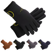 Winter Warm Soft Gloves Outdoor Sports Cycling Driving Windproof Thermal Mittens