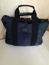 FRED PERRY Work Bag Mens Nylon Document Carry Case Navy Shoulder Sport Bags BNWT