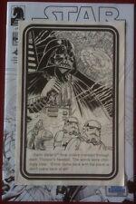 Star Wars (1979) Black & White Mini Comic Book - Rare Early Story Comic Book Art