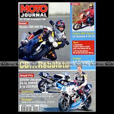 MOTO JOURNAL N°1204 OLIVIER JACQUE HONDA NSR 250 TRIUMPH 900 TROPHY FOGARTY 1995