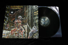 Iron Maiden SOMEWHERE IN TIME LP - NEAR MINT/EX SHRINK 1986 CAPITOL SJ-12524