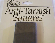 Anti-Tarnish Squares for jewelry silver brass copper