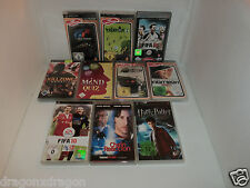 10 x Spiele / Games für Sony PSP (Need for Speed, Killzone, Gran Turismo, u.v.m)