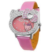 Reloj HELLO KITTY watch con brillantes Precioso A1230