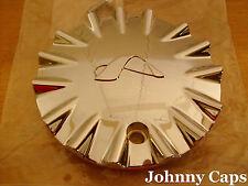 Alba Wheels CHROME Center Caps # KD-208 Chrome Custom Wheel NEW! Center Cap (1)