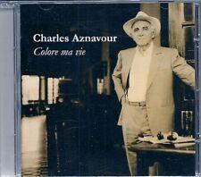 CD ALBUM--CHARLES AZNAVOUR--COLORE MA VIE--2007