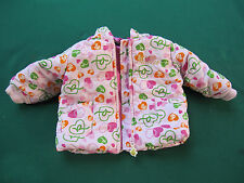 ROCAWEAR - TODDLER GIRLS PINK L/S 6M JACKET W/ ORG. HOOD COVER ! UNIQUE. AMAZING