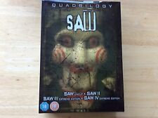 Saw Quadrilogy DVD Boxset! Look At My Other DVDs!