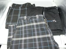 3 Mens SHORTS Surfer & Skater lot O'Neill, Kirra, J Crew, Subculture all size 34