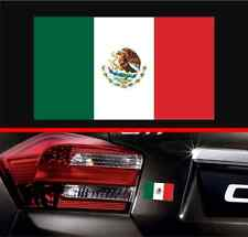 "4"" Mexican Flag Vinyl Decal Bumper Sticker Mexico Macbook Decal Car Sticker Jeep"