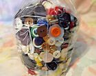 Large Lot of Vintage Buttons 4.8 lbs Mixed Metal Lucite Shell Plastic Shank