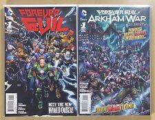 Forever Evil 1-7 & Arkham War1-6 VF/NM COMPLETE (2013, DC, Johns, Tomasi)