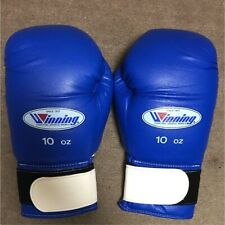 Used Good Condition 10oz Boxing Glove Winning Blue Made in Japan