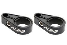 Raptor 700 660 350 250 125 Warrior  Brake Line Clamps  Alba Racing  Black