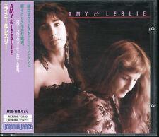 AMY & LESLIE-ST 12tracks Japan CD w/OBI