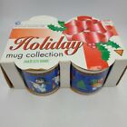 Majesticware Holiday Coffee Mug Snowman Christmas Frosty's Delight 12-oz Set 4