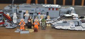 LEGO Star Wars Konvolut | Battle Pack, Snowspeeder, Transporter