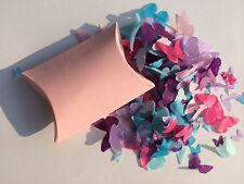 Biodegradable Confeti de boda Rosa Claro Individual Cajas Elija Su Color