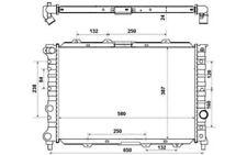 NRF Radiador, refrigeración del motor ALFA ROMEO 156 58202