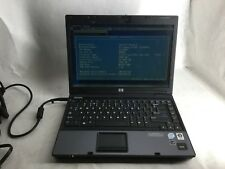 HP Compaq 6510b Intel Core 2 Duo 2GHz 4gb RAM Laptop Computer -CZ