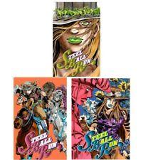Steel Ball Run Vol.1 2 3  Lot Jojo's bizarre adventure Japanese Ed Manga F/S