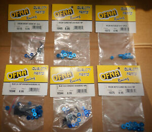 OFNA RC Blue Screw & Nut Metric Hardware 1 of Each size, OFNA Parts, NEW