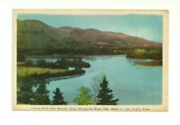 LOOKING NORTH FROM MORRISEY ROCK, RESTIGOUCHE, NEW BRUNSWICK VINTAGE POSTCARD