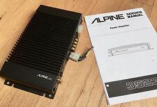 ALPINE 3523 Verstärker amplifier, 2x35 Watt, Vintage, Old school, Rarität !