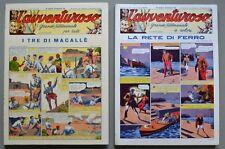 L'AVVENTUROSO, annata 1939. Settimanale d'avventura. Anastatica, Nerbini, 1977