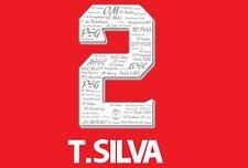 T SILVA 2 PSG COUPE DE FRANCE finale 100 Anniversario Football shirt NAMESET