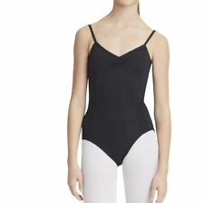 Capezio Adult Black Adjustable Cami With Pinch Front Leotard Dance Szl (8)