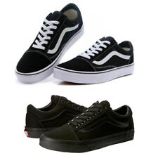 Herren DamenVans Old Skool Schwarz Weiß Sneaker Unisex Skate schuhe EU35 - 45 DE