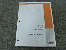Case CX160B Tier 3 Crawler Excavator Owner Operator Maintenance Manual 84538869