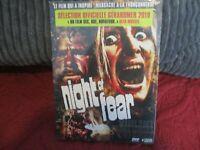"DVD DIGIPACK NEUF ""NIGHT OF FEAR"" film d'horreur de Terry BOURKE"
