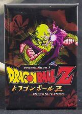 "Dragonball Z Piccolo's Plan Movie Poster 2"" X 3"" Fridge / Locker Magnet. Dbz"