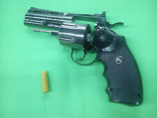 "Python 357 Revolver spin lighter cowboy wild west gunfighters magnum 4"" cosplay"
