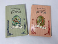 BEATRIX POTTER COLLECTOR'S EDITION JOURNALS JEREMY FISHER & JEMIMA PUDDLE DUCK