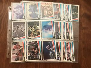 Space 1999 - Complete 66-card set with wrapper (Donruss, 1976) - NM