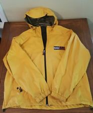 VINTAGE 90's Tommy Hilfiger Outdoors Yellow Light Jacket Full Zip Men's Size L