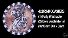 4  x  RUDGE ULSTER 500cc ENGINE MOTOR CYCLE MOTORCYCLE - DRINK COASTERS