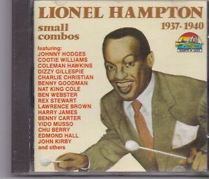 Lionel Hampton-Small Combos 1937-40 (CD 1992)