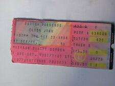 ELTON JOHN Concert Ticket Stub New York City MSG 1984