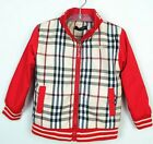 Boys Quality designer Windbreaker Coat Jacket Red size 12-24 months, 2,3,4,5