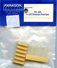 """Paragon Designs 1:48 6x 0.50"""" Brownings (Fixed Type) Resin #4822"""