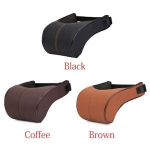 Neck Support Car Seat Headrest Pillow Bone Soft Memory Foam Pad Memory Cushion K